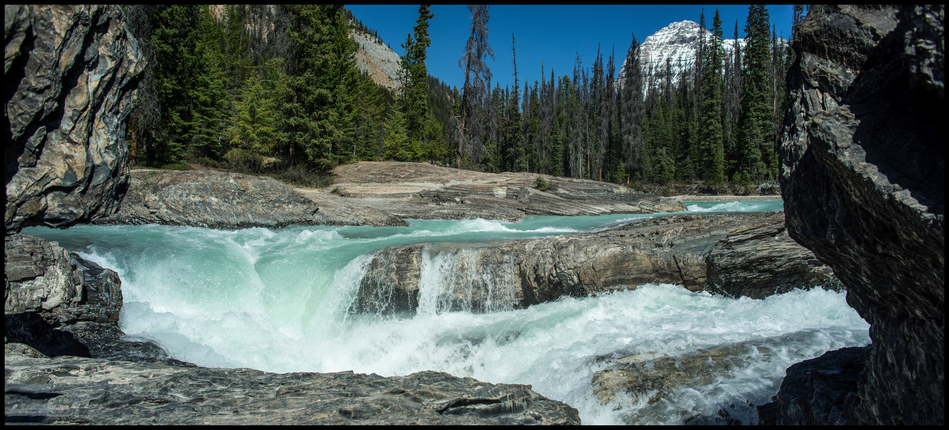 Natural bridge / Kicking horse river, Yoho National Park Sony A7 / Canon FD Tilt Shift 35 2.8