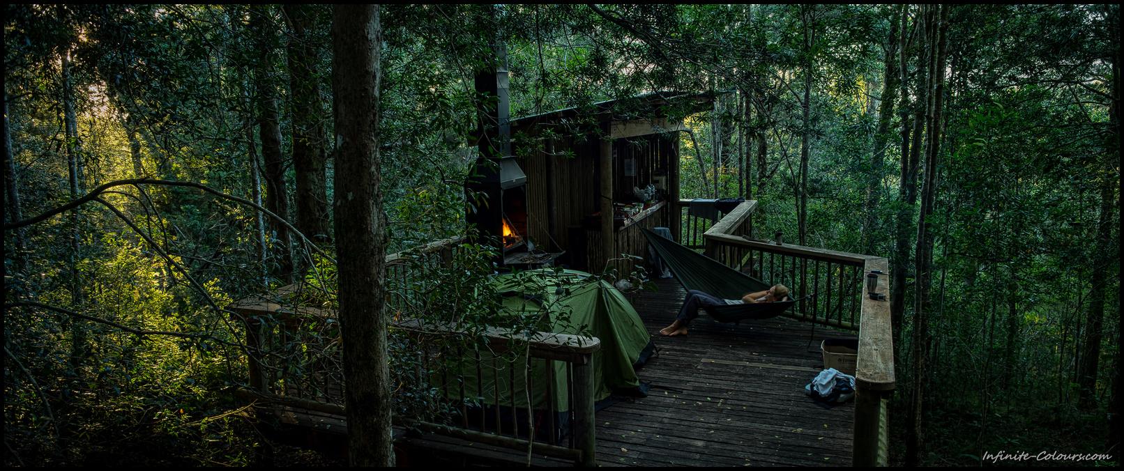 Diepwalle Forest Station Camping Decks