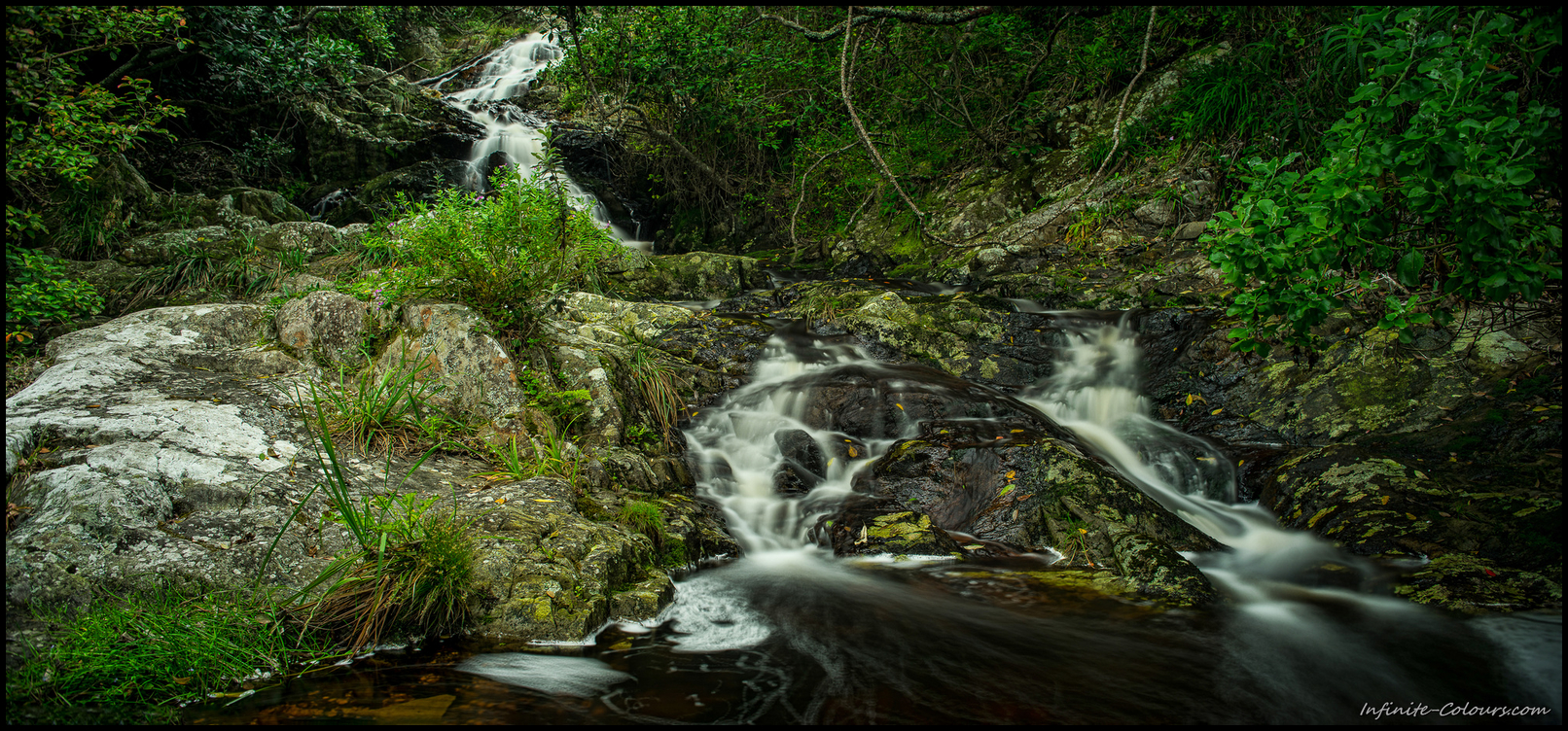Waterfall between Oakhurst and Andre huts, Otter Trail