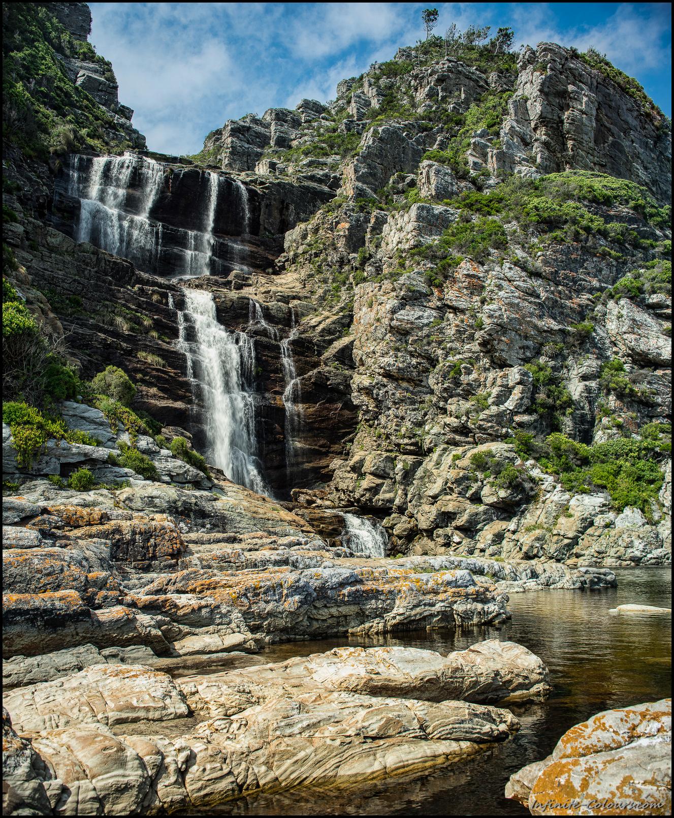 Jerling Rivier cascades on Otter Trail
