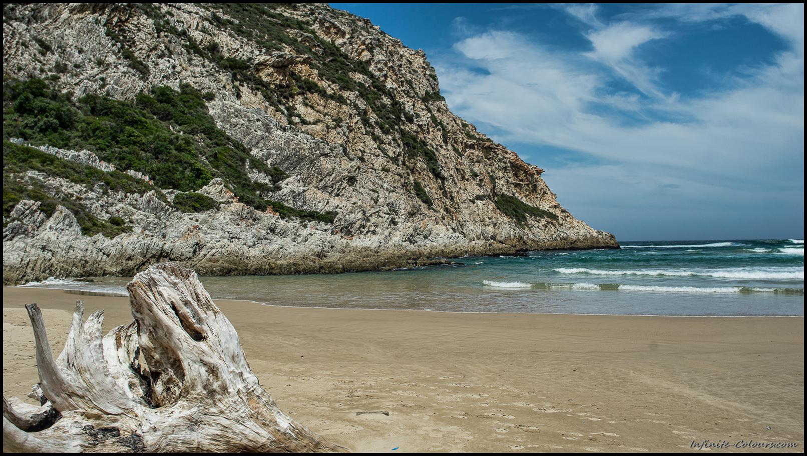 Natures Valley beach scenery