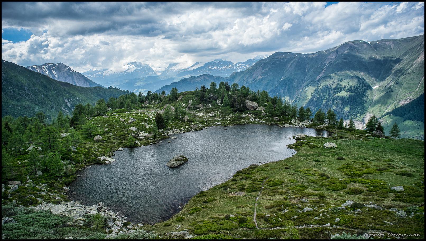 Mässersee plateau, Landschaftspark Binntal