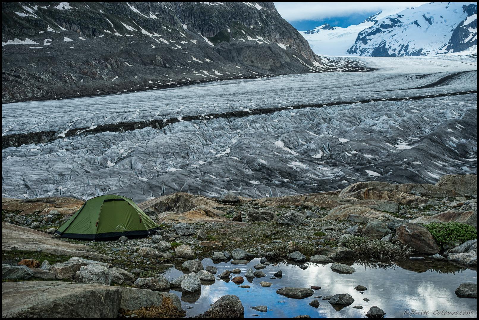Jungfrau Aletsch glacier camp I