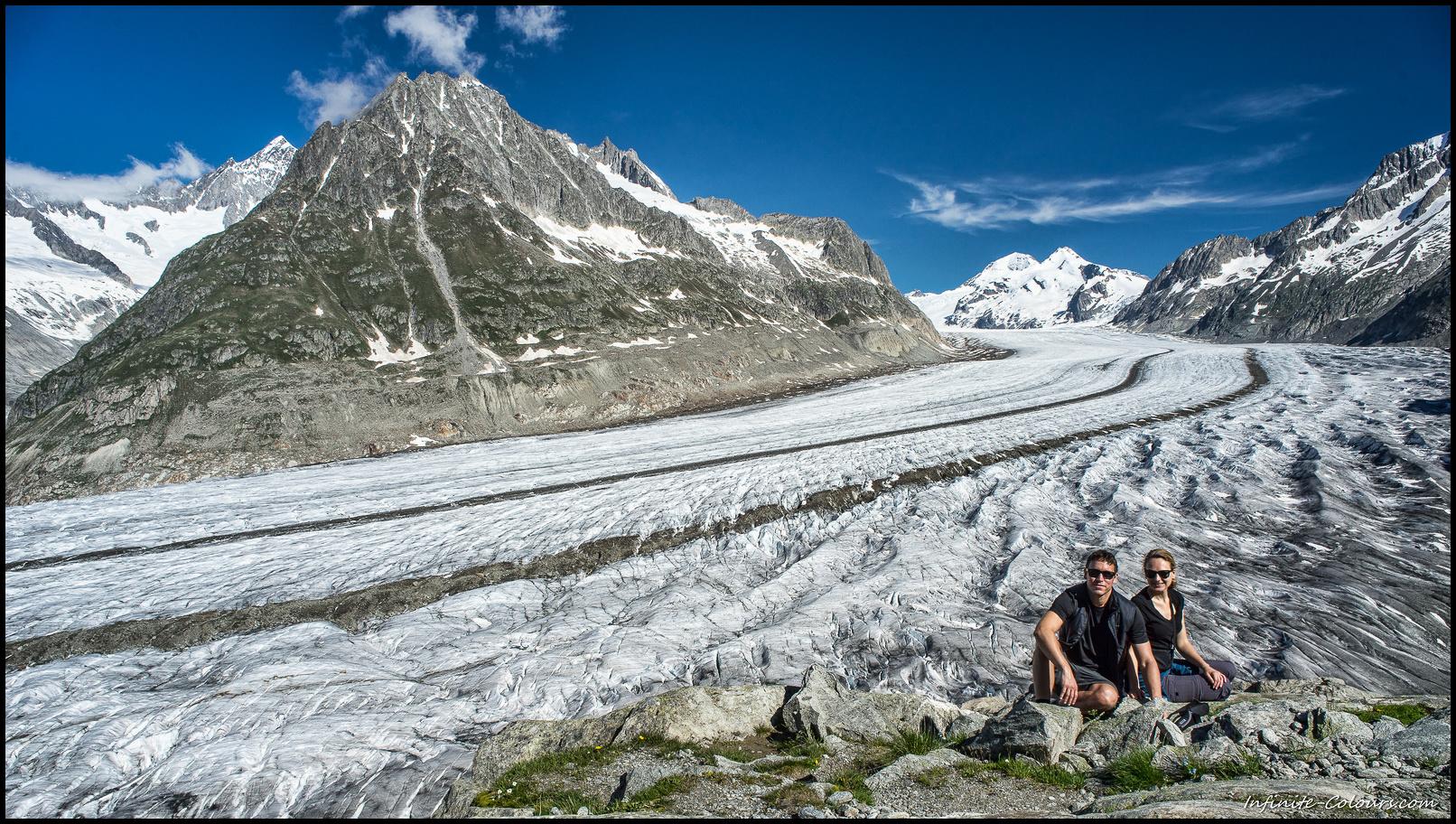 Aletschgletscher viewpoint