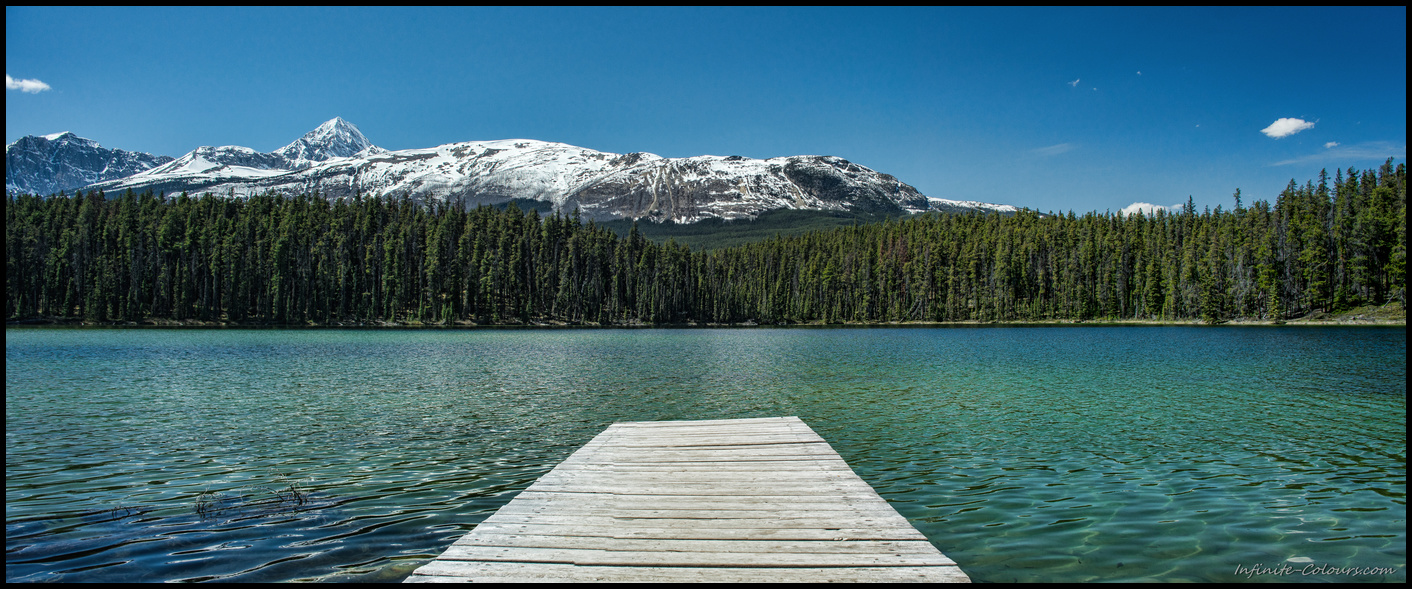 Leach Lake picknick spot near Jasper