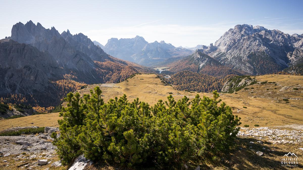 Trail zwischen Rifugio Auronzo und Col de Mezzo, Tre Cime
