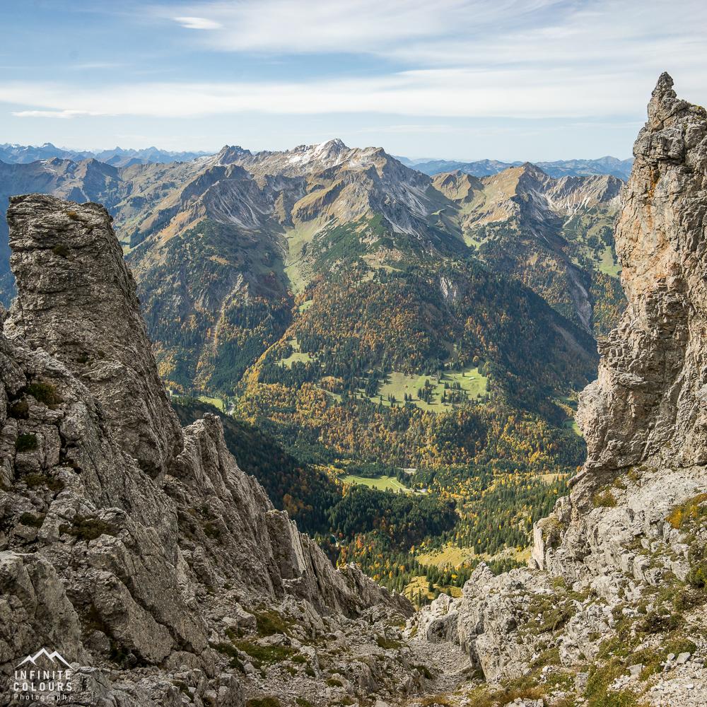 Rauhorn Hintersteiner Tal Hinterstein Daumengruppe Großer Daumen Hindelanger Klettersteig Nebelhorn Oberstdorf Schrecksee