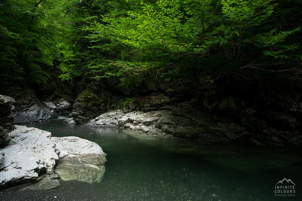 Rheintal Vorarlberg Schlucht Baden Badegumpe Landschaftsfotografie Klamm Canyon Frödisch Canyoning Vorarlberg Feldkirch Bregenz Österreich Fotografie Gumpen