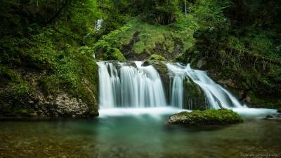 Wasserfall Allgäu Oberstdorf Tobel Deutschland Autal Oberallgäu Paradies Fotografie Landschaftsfotografie Sony A7 Minolta MD 35-70 3.5 macro