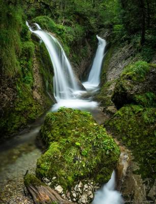 Wasserfall Allgäu Oberstdorf Tobel Deutschland Canyoning Oberallgäu Paradies Fotografie Landschaftsfotografie Sony A7 Minolta MD 35-70 3.5 macro