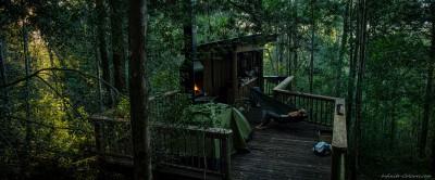 Diepwalle Camping decks Westkap, South Africa