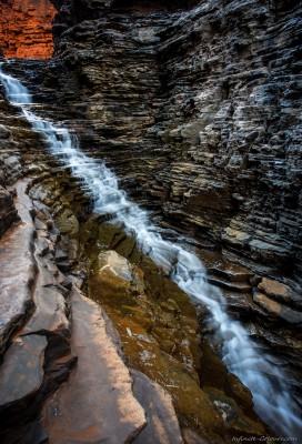 Sony A7 Olympus OM 24 2.8Weano falls staircaseKarijini, WA photography landscape fotografie