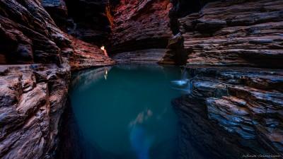 Surreal Kermit's Pool, Hancock Gorge (I)Karijini National Park, Western Australia