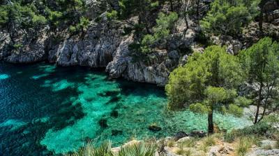 Cala en Gossalba, Torrent de les Agulles Formentor, Mallorca