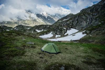 Seebodensee camp, Sustenpass Sustenpass area, Bern, Switzerland