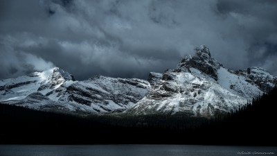 Lake O'Hara early winter stormYoho National Park, Canada landscape photography fotografie Sony A7 Minolta MD 35-70 3.5 macro