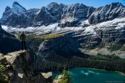 Lake O'Hara Highline Trail below Wiwaxy Peaks Yoho National Park, Canada photography fotografie Sony A7 Minolta MD 35-70 3.5 macro