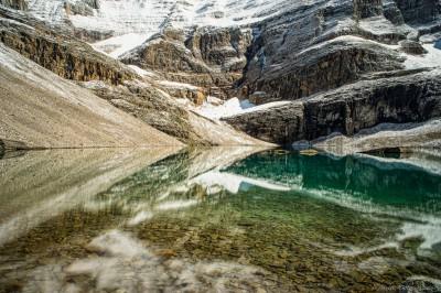 Sony A7 Olympus OM 24 2.8 Oesa alpine reflectionsLake O'Hara Highline Route, Yoho photography landscape fotografie