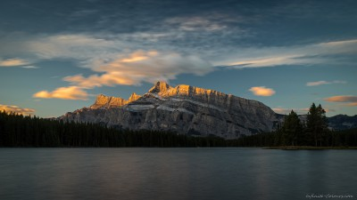 Sony A7 Minolta MD 35-75 3.5 macro Two Jack sunriseTwo Jack Lake, Banff, Canada photography fotografie