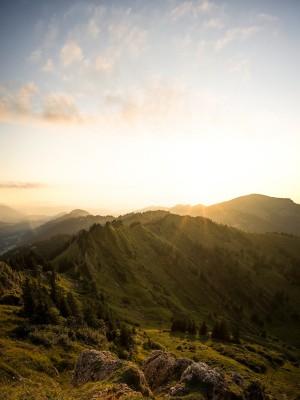 Siplingerkopf Sonnenuntergang Allgäu Fotografie Landschaftsfotografie Berge Nagelfluh Balderschwang Bregenzerwald Landschaftsfotografie landscape sunset panorama mountains
