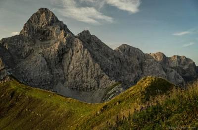 Trettachspitze-WildengundkopfTrettachspitze und Mädelegabel vom Wildengundkopf
