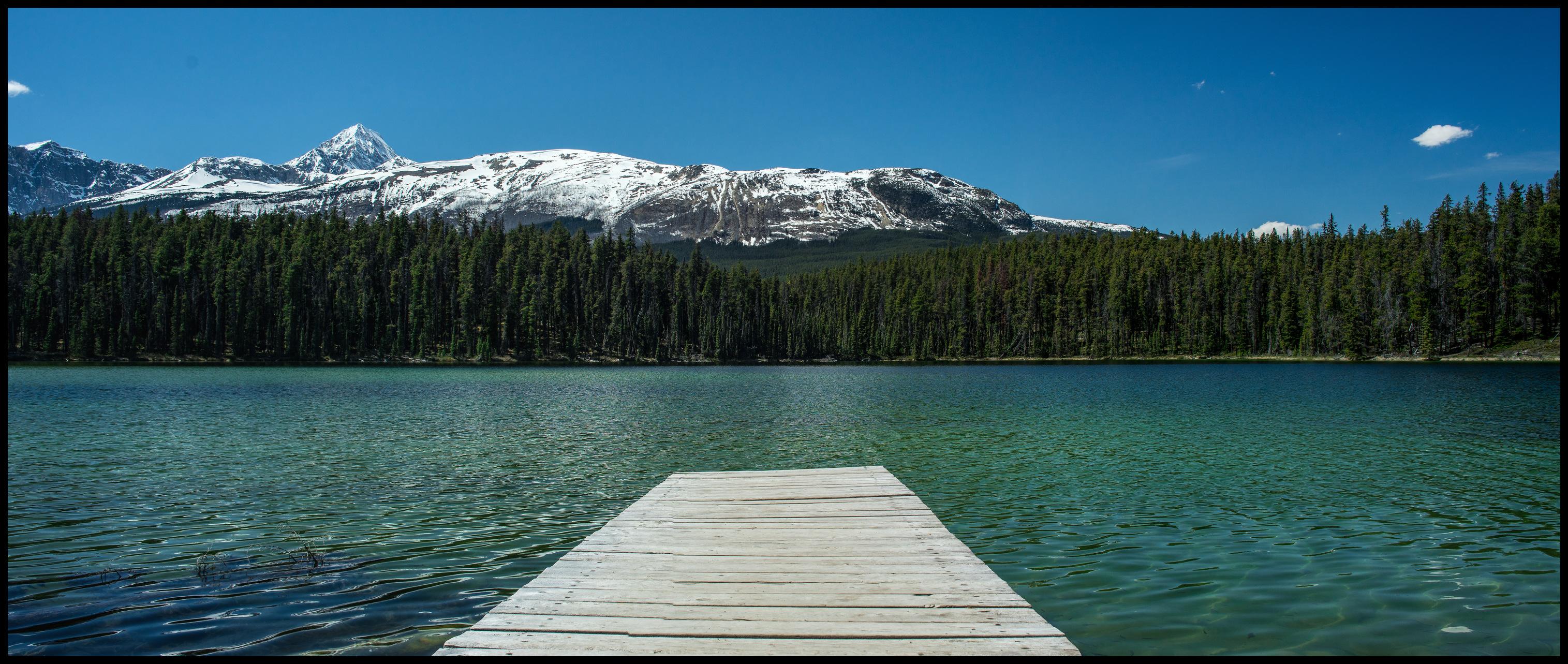 Leach Lake picknick spot near Jasper Sony A7 / Canon FD Tilt Shift 35 2.8
