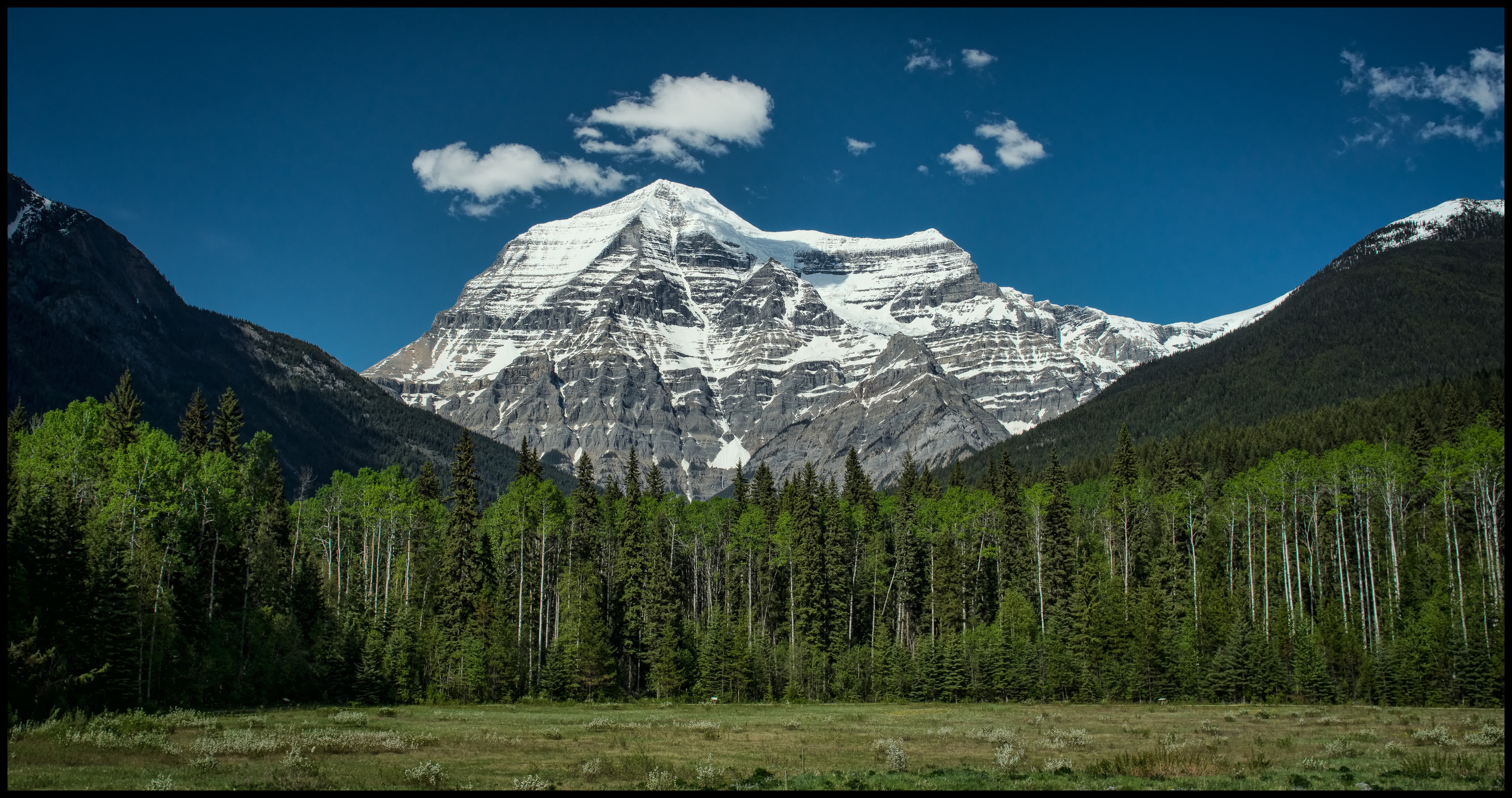 Mt. Robson from the visitor centre Sony A7 / Canon FD Tilt Shift 35 2.8
