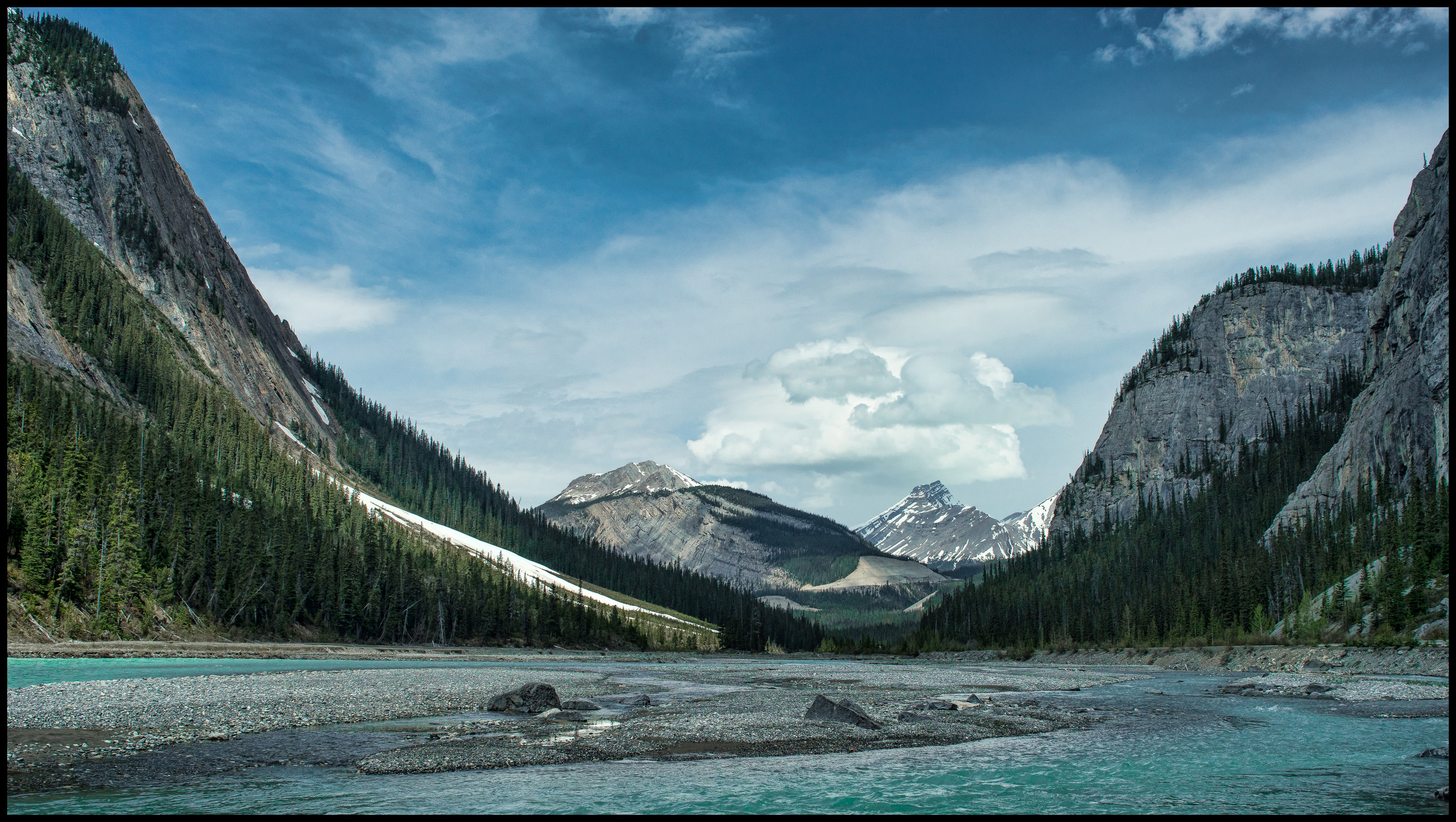 Icefields Parkway Sony A7 / Canon FD Tilt Shift 35 2.8