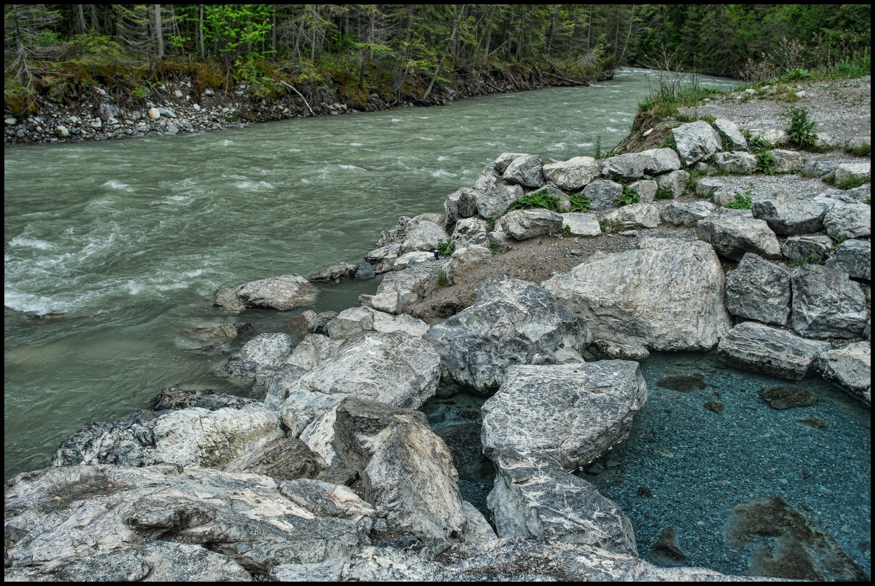 Lussier natural Hot Springs pool Sony A7 / Canon FD Tilt Shift 35 2.8