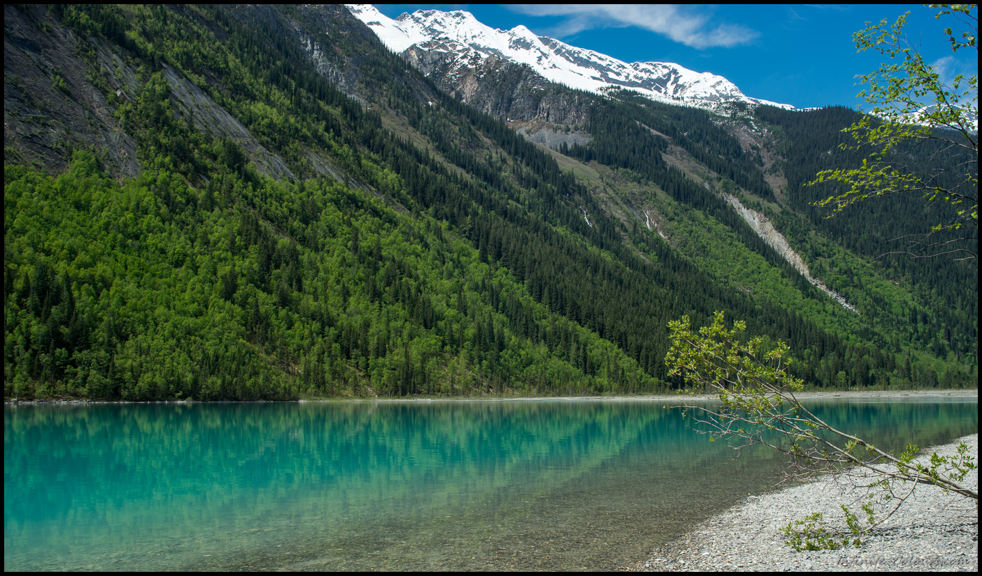 Colours of Kinney Lake campground