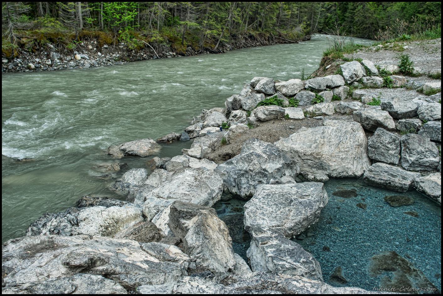 Lussier natural Hot Springs pool