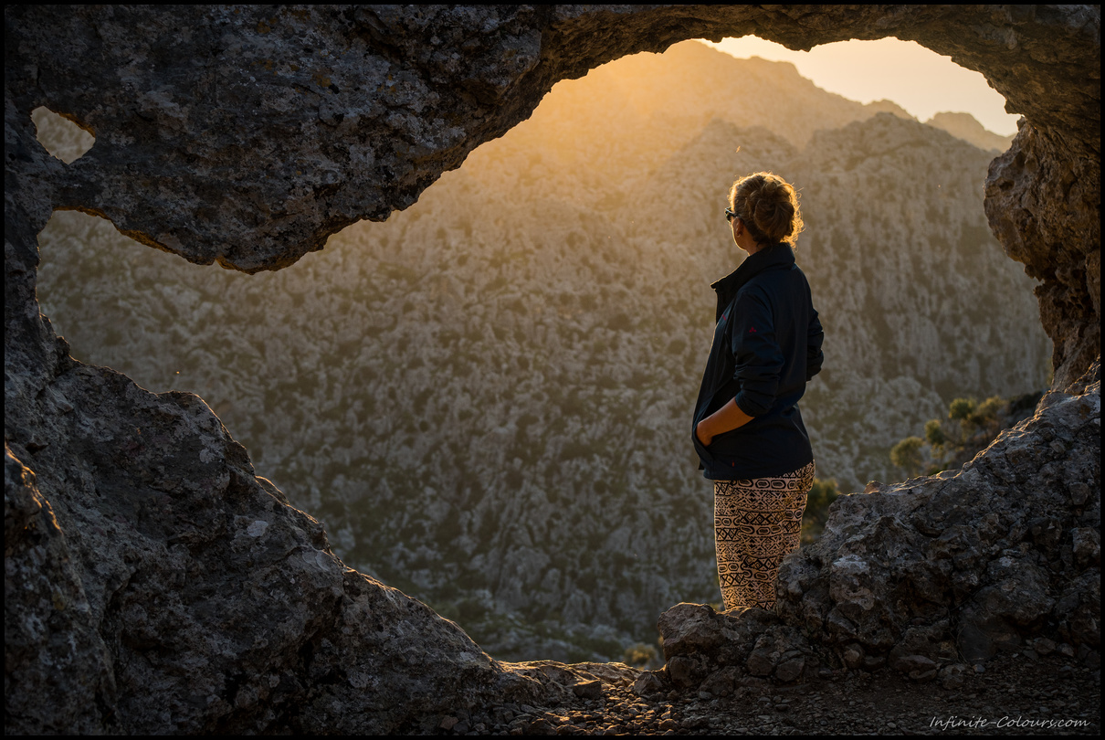 One of my favourite pics of the trip. Just gazing into sunset at the Torrent de Pareis, Tramuntana