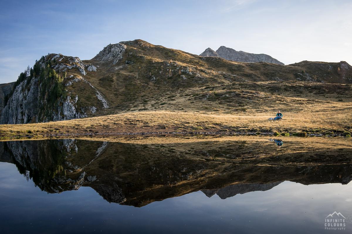 Passo Giau lago Col Piombin