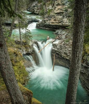 Sony A7 Canon FD TS 35 2.8 Johnston Canyon cascadesBanff National Park, Canada photography fotografie
