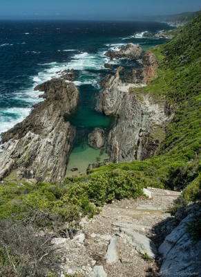 Otter Trail between Scott and Oakhurst huts South Africa, Ostkap
