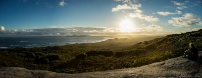 William Bay camping area, Bibbulmun Track William Bay National Park, Western Australia