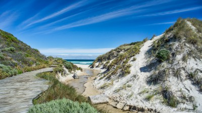 Conspicuous Beach dune walk, Nornalup Western Australia