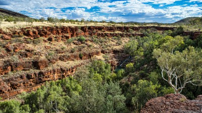 Fortescue Falls Dales Gorge Karijini National Park, Western Australia