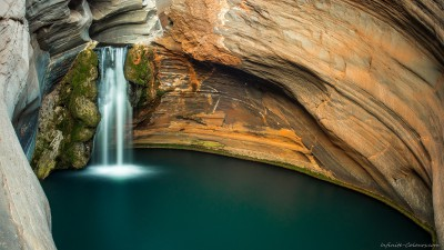 Hamersley Gorge Spa Pool Western Australia photography