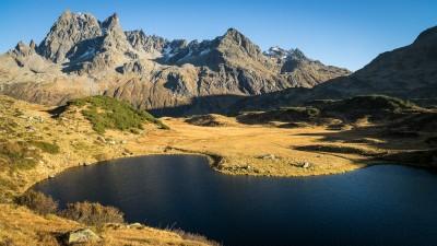 Langersee-Patteriol-Verwall-Herbst-Oktober-Wanderung-Landschaft
