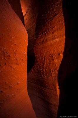 Peek-A-Boo slot canyon Grand Staircase Escalante, Utah