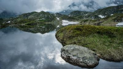Early morning clouds, SeebodenseeSustenpass / Steingletscher, Switzerland landscape photography fotografie Sony A7 Minolta MD 35-70 3.5