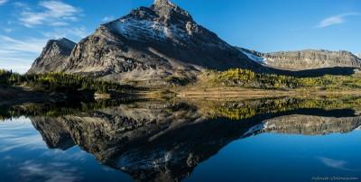 Brachiopod reflections in Baker Lake