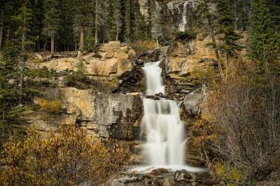 Sony A7 Minolta MD 35-75 3.5 macro Tangle cascadesTangle creek waterfall, Jasper Icefields photography landscape fotografie